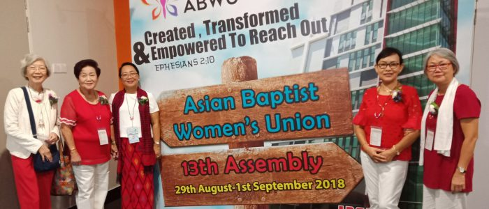 Asian Baptist Women's Union: 13th Assembly